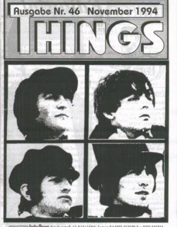BEATLES: Fan-Magazin THINGS 46