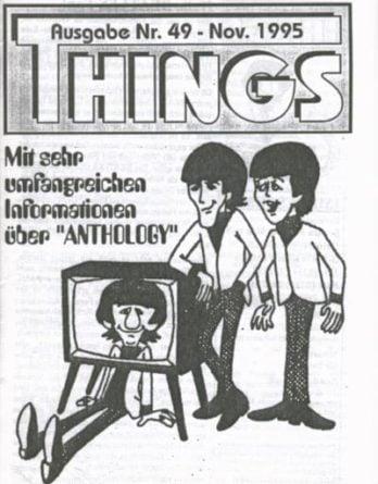 BEATLES: Fan-Magazin THINGS 49