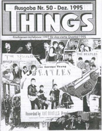 BEATLES: Fan-Magazin THINGS 50