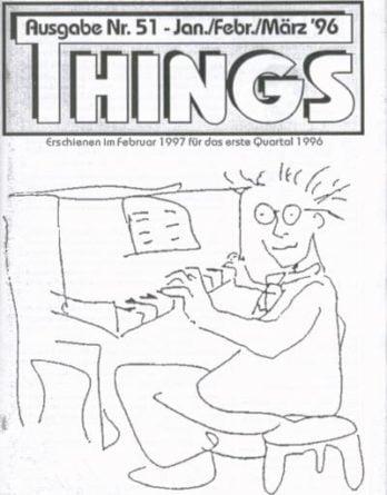 BEATLES: Fan-Magazin THINGS 51