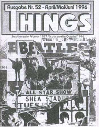BEATLES: Fan-Magazin THINGS 52