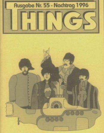 BEATLES: Fan-Magazin THINGS 55