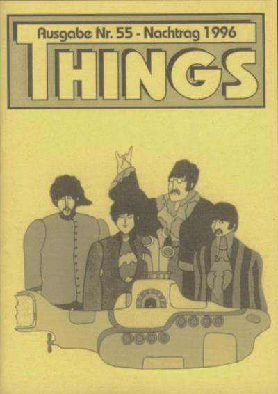 BEATLES: Fan-Magazin THINGS 55