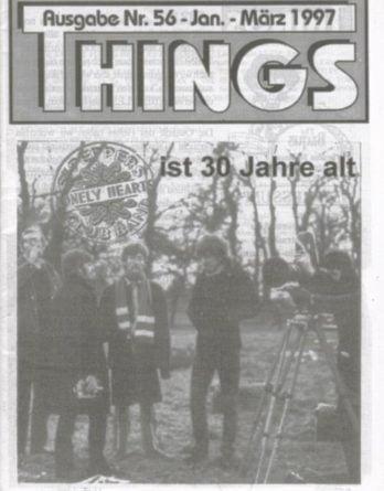BEATLES: Fan-Magazin THINGS 56