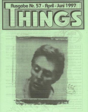 BEATLES: Fan-Magazin THINGS 57