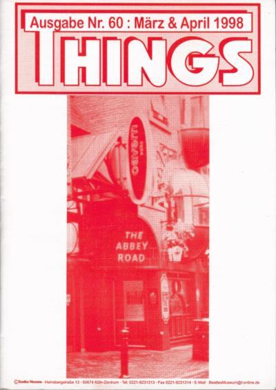 BEATLES: Fan-Magazin THINGS 60