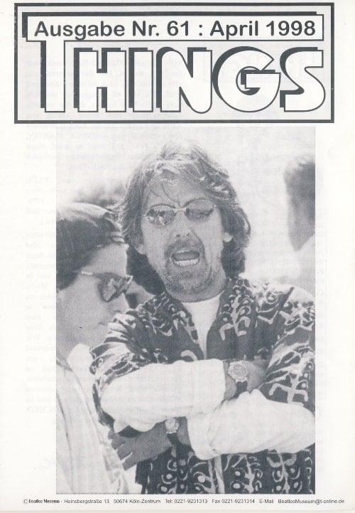 BEATLES: Fan-Magazin THINGS 61