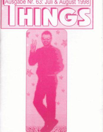 BEATLES: Fan-Magazin THINGS 63
