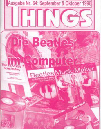 BEATLES: Fan-Magazin THINGS 64
