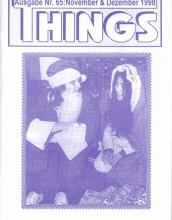 BEATLES: Fan-Magazin THINGS 65