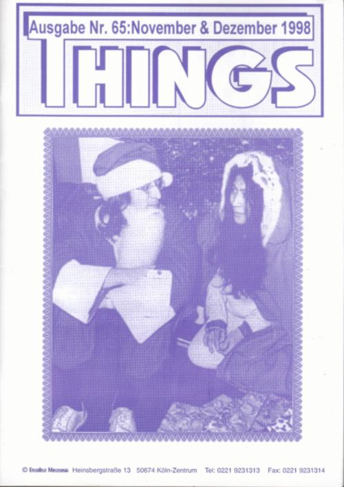 BEATLES: Fan-Magazin THINGS 65