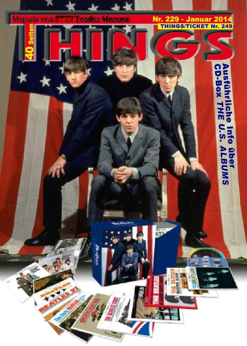 BEATLES-Magazin THINGS 229