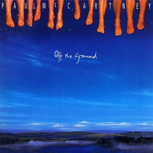 PAUL McCARTNEY: 2014er CD OFF THE GROUND