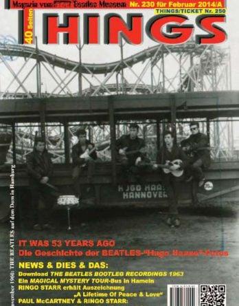BEATLES-Magazin THINGS 230