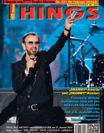 BEATLES-Magazin THINGS 231