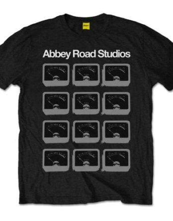 T-Shirt ABBEY ROAD STUDIOS - VU METERS