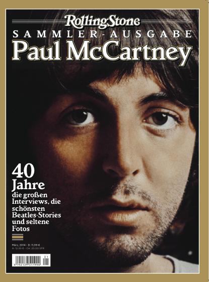 "Heft PAUL McCARTNEY ""Rolling Stone""- Sammler-Ausgabe"