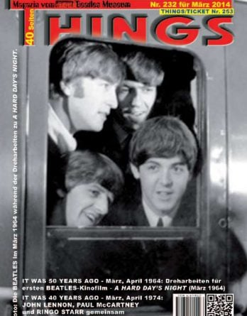 BEATLES-Magazin THINGS 232