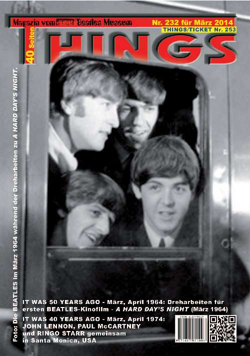 BEATLES-Magazin THINGS 232