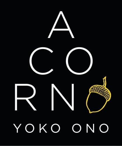 YOKO ONO: deutsches Buch ACORN