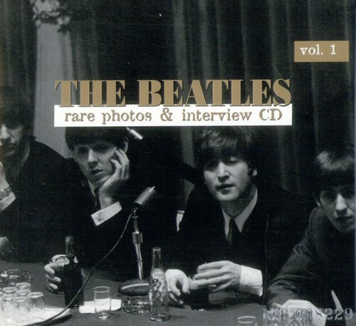 BEATLES-Interview-CD (limitiert & nummeriert) RARE PHOTOS & INTE
