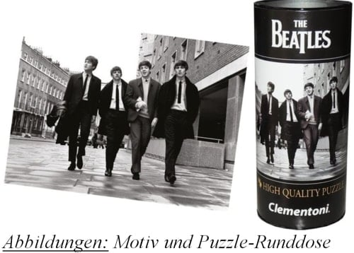 Puzzle in Runddose BEATLES IN LONDON 1963