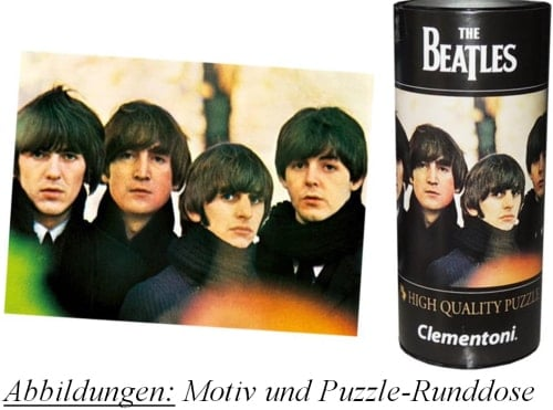 Puzzle in Runddose BEATLES FOR SALE COVER PHOTO