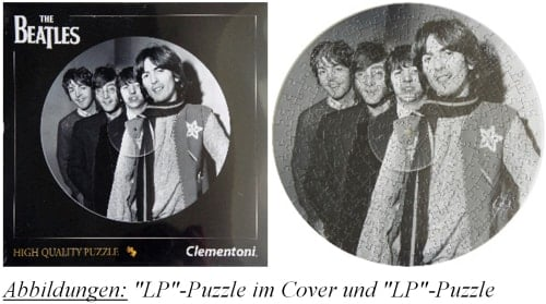 BEATLES-Puzzle in LP-Form BEATLES 1967