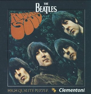 BEATLES-Puzzle in Box RUBBER SOUL ALBUM COVER