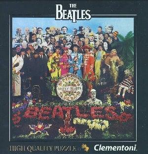 BEATLES-Puzzle in Box SGT. PEPPER ALBUM COVER