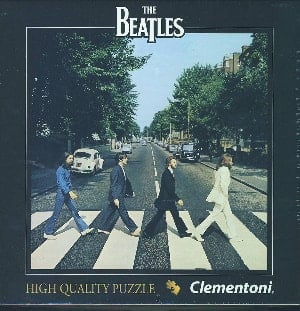 BEATLES-Puzzle in Box ABBEY ROAD ALBUM COVER