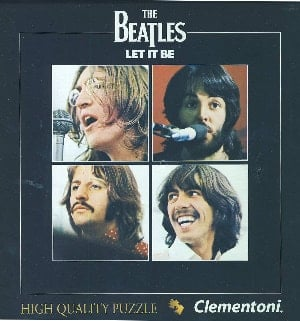 BEATLES-Puzzle in Box LET IT BE ALBUM COVER