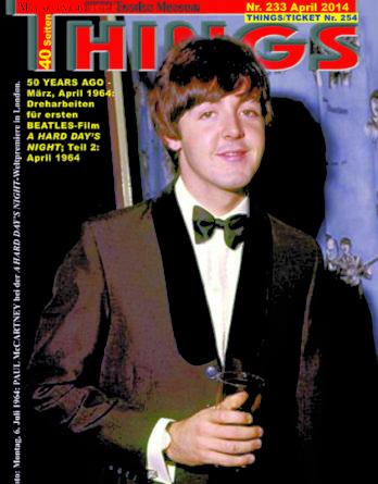 BEATLES-Magazin THINGS 233