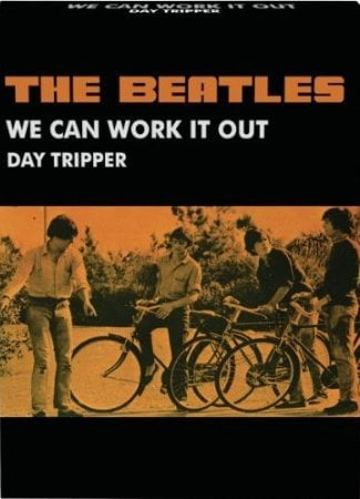 BEATLES-Notizblock WE CAN WORK IT OUT / DAY TRIPPER