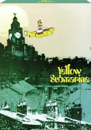 BEATLES-Notizblock YELLOW SUBMARINE