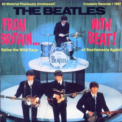 BEATLES-Interview-CD FROM BRITAIN … WITH BEAT!