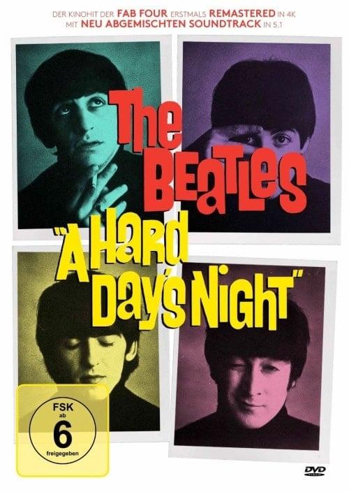 BEATLES: DVD A HARD DAY'S NIGHT