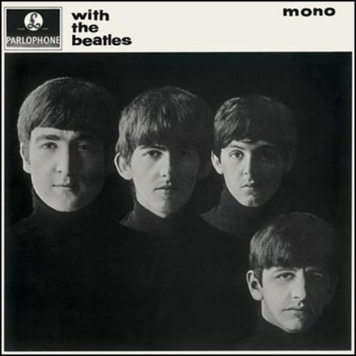 BEATLES: 2014er Mono-LP WITH THE BEATLES