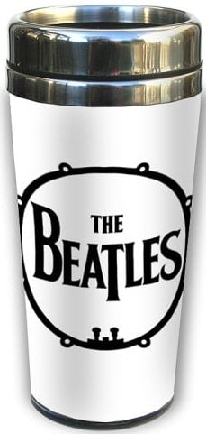 BEATLES-Thermosbecher DRUM LOGO THE BEATLES