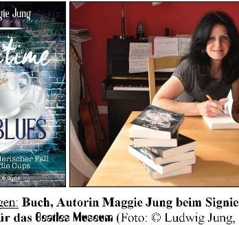 deutsches Buch TEATIME BLUES mit BEATLES-Thema