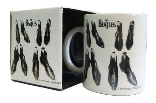 BEATLES-Kaffeebecher THE BEATLES BOOTS