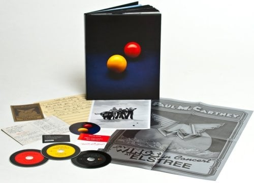 PAUL McCARTNEY: Buch mit 2 CDs & 1 DVD VENUS AND MARS (deluxe)