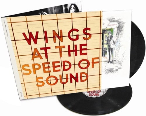 P. McCARTNEY: Do-LP WINGS AT THE SPEED OF SOUND