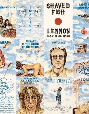 JOHN LENNON:  180-Gramm-LP SHAVED FISH (Ltd. Back To Black Vinyl