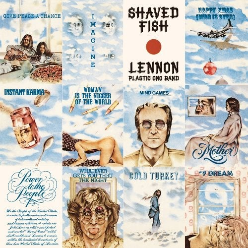 JOHN LENNON:  180-Gramm-LP SHAVED FISH (Ltd. Back To Black Vinyl
