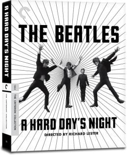 BEATLES-Box (2 DVDs, 1 Blu-ray, Buch) A HARD DAY'S NIGHT aus USA