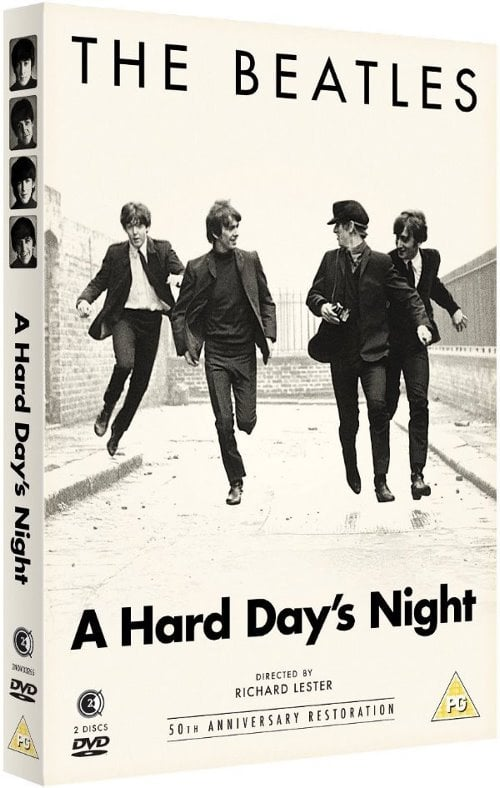 Doppel-DVD A HARD DAY'S NIGHT aus England