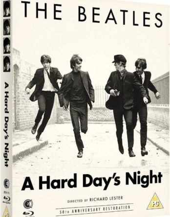 Blu-ray A HARD DAY'S NIGHT aus England