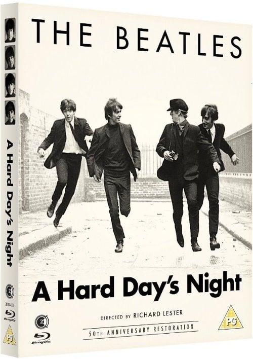 Blu-ray A HARD DAY'S NIGHT aus England