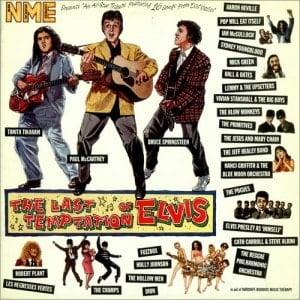 Doppel-LP THE LAST TEMPTATION OF ELVIS mit PAUL McCARTNEY und an